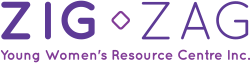 Zig Zag | Young Women's Resource Centre Logo